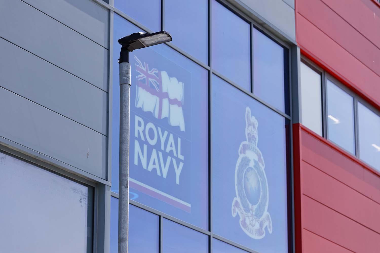 Royal Navy HMS Cambria