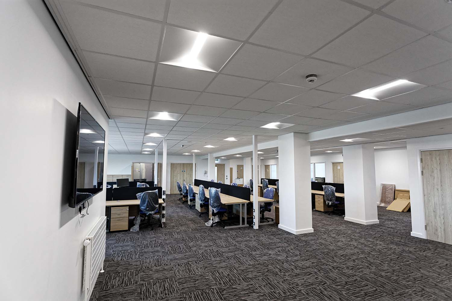 HMS Cambria - Office Lighting