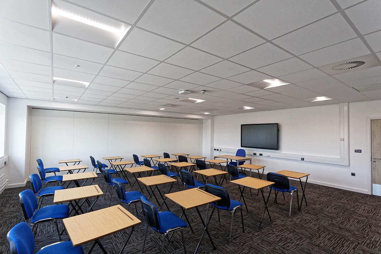 HMS Cambria - Classroom lighting