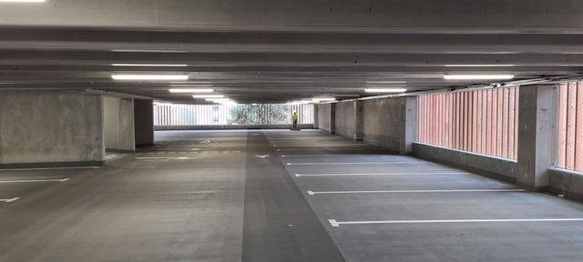 Sadlers Mead inside car park 1